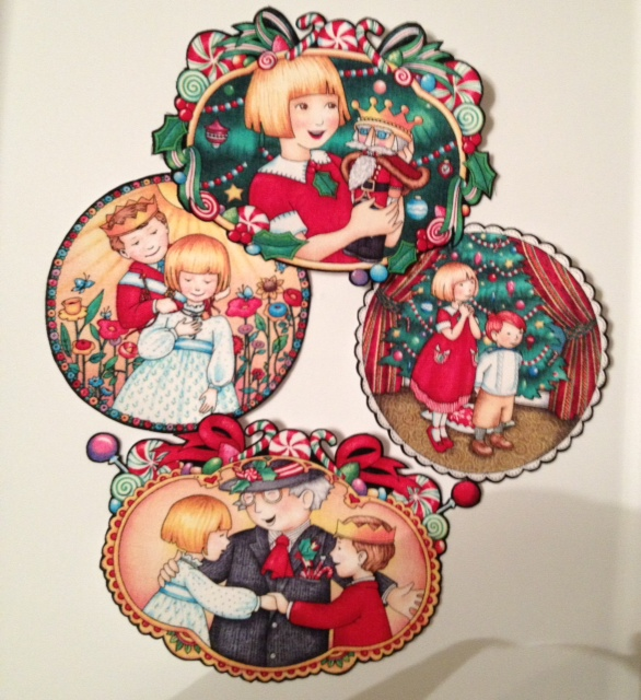 Nutcracker Christmas - Iron On Fabric Appliques, ballet