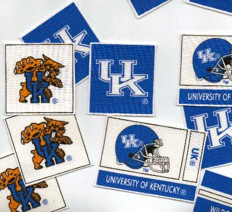 University of Kentucky Wildcats - Iron On Fabric Appliques